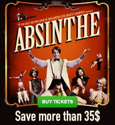 Absinthe Las Vegas - Save more than $35!