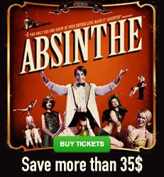 Absinthe Las Vegas - Save more than $35!