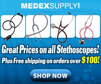 Great Prices on all stethoscopes!