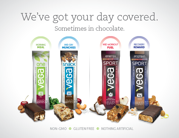 Try the all-new Vega Bars