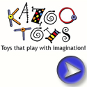 image of a kazoo toys banner