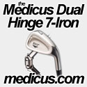 Medicus Dual Hinged 7 Iron - Golf Training Aid