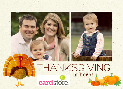 $0.79 Halloween & Thanksgiving Cards at Cardstore