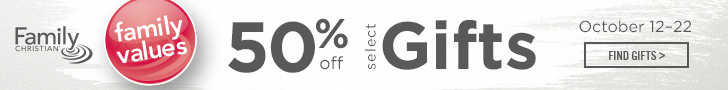 Family Values 50% Off Select Gifts