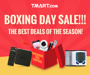 2016 Box Day Sale - UP to 74% OFF