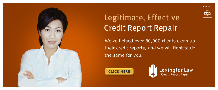 Legitimate, Effective Credit Report Repair