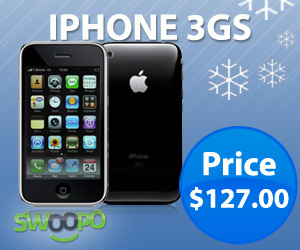 Apple iPhone 3GS back at Swoopo!