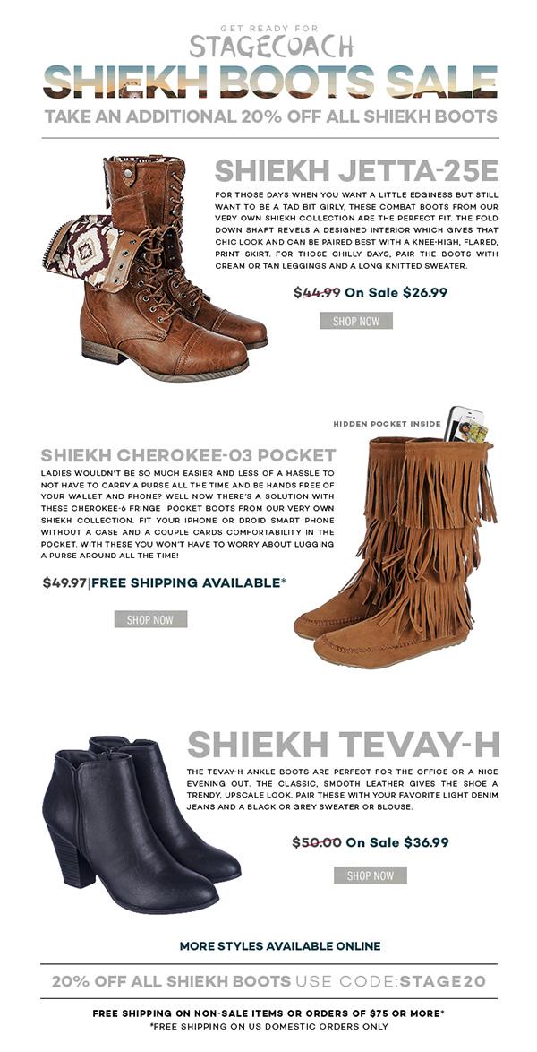 shoes boots sales