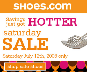 Shop Shoes.com's Saturday Sale