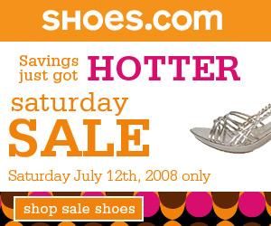 Shop Shoes.com's Saturday Sale