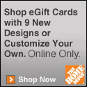 Image of Home Depot Gift Card