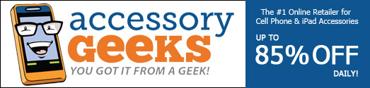 AccessoryGeeks.com - You Got it from A Geek