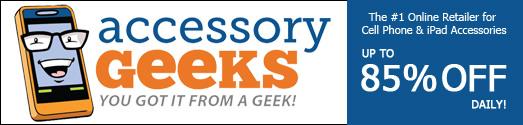 AccessoryGeeks.com - You Got it from A Geek