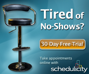 Take appointments online with Schedulicity