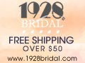 Glam without the guilt - Shop 1928bridal.com!