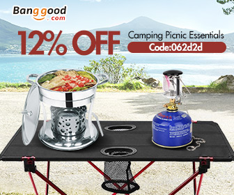 15% OFF for Camping & Travel Acc Promotion