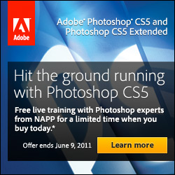 Free Training with Photoshop CS5 Purchase