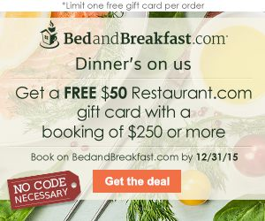 Book an online reservation on BedandBreakfast.com today!