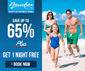 Warm up with Beaches Resorts