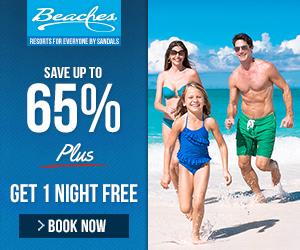 Beaches 2 Nights Free