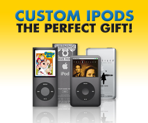 Custom iPods from Fox