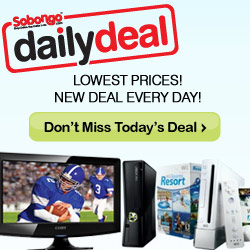 Sobongo Daily Deal Landing Page