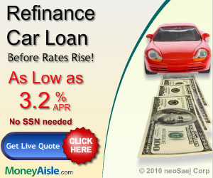 Visit MoneyAisle.com for Great Rates on Auto Refi