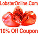 Save 10% Live Lobster Coupon Code LCJ013