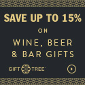 Save Up To 15% Wine, Beer & Bar Gifts