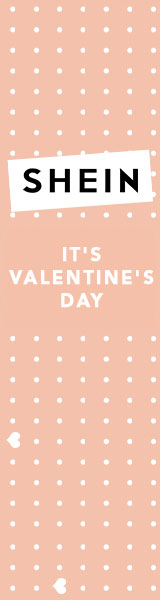 160x600 Its Valentine's Day!  Find over 2000+ items by category at SheIn.com