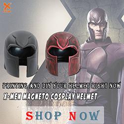 X-Men Magneto DIY & Painted Helmet