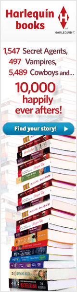 Save 20% every day on print books at Harlequin