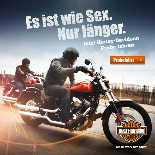 Harley-Davidson Probefahrt