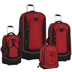 Timberland Claremont 4 Piece Luggage Set Now Only $255.97 Plus Free Shipping Org. $1,360.00 Use Promo Code CMTB at Checkout.