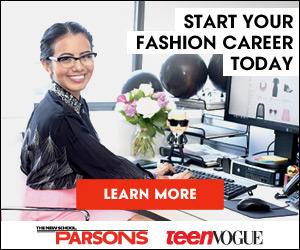 Parsons & Teen Vogue 300x250 banner - Fashion Career