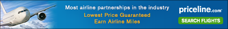 Priceline Airfare - You Choose: Flight & Time