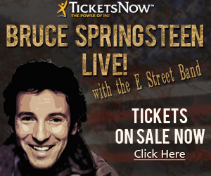 Bruce Springstein Live at TicketsNow.com