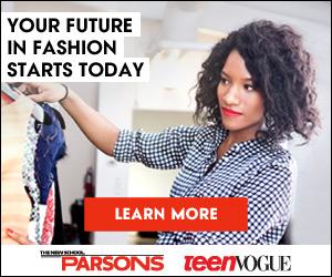 Parsons & Teen Vogue 300x250 banner - Fashion Future