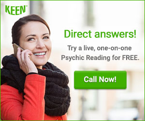 Direct Answers! Call 1-800-355-9142 to start a Psychic Reading. Get 3 minutes FREE!
