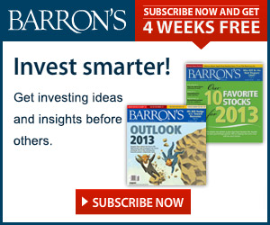 Subscribe To Barron's Magazine