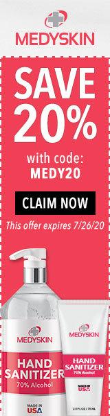 160x600 Natural Skin Shop Coupon - Ends December 31st