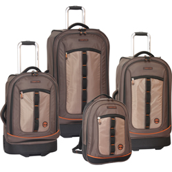 -Timberland Jay Peak 4 Piece Wheeled Luggage Set Now Only $279.47 Org. $1,340.00 Plus Free Shipping Use Promo Code JPTB at checkout.-