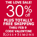 THERE'S STILL TIME! 25% Off Thousands of Items Plus Totally Free Shipping at Ross-Simons.com!