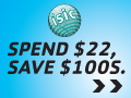 Save $100's, Spend $22