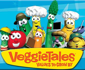 Veggie Tales $5 DVD Sale!