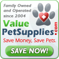 ValuePetSupplies.com-Save Money-Save Pets! 120x120
