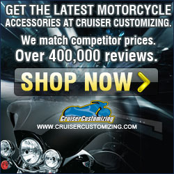 Get the latest accessories at CruiserCustomizing