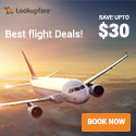 Best Flight Deals at Lookupfare