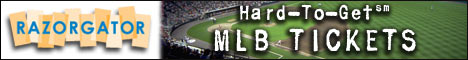 Buy MLB Baseball Tickets at RazorGator