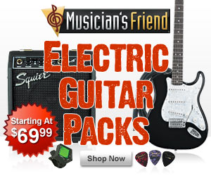 Black Friday Deal Center at Musician's Friend